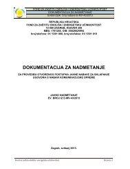 dokumentacija za nadmetanje - Fond za zaštitu okoliša i energetsku ...