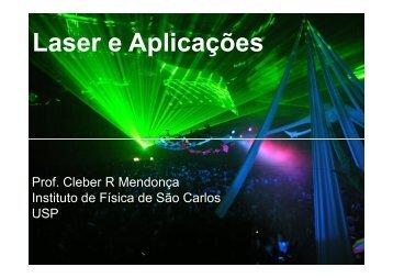 Laser e Aplicações - Fotonica.ifsc.usp.br - USP