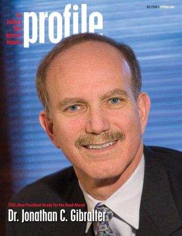 Dr. Jonathan C. Gibralter - Frostburg State University