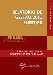 Suest/PB - Funasa