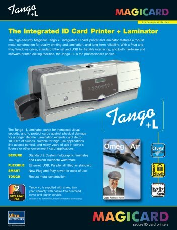 The Integrated ID Card Printer + Laminator - Galaxy Control Systems