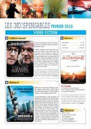 LES INDISPENSABLES FEVRIER 2010 - Colaco
