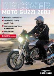 MOTO GUZZI 2003 - Das Moto Guzzi Portal