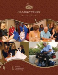A program of - The Foundation for Senior Living