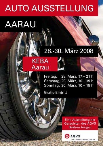 AUTO AUSSTELLUNG AARAU - Garage Häusermann AG