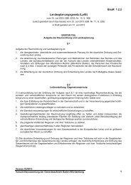 BauR 1.2.2 1 Landesplanungsgesetz - Gewerbeaufsicht - Baden ...