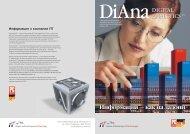 Буклет-описание DiAna: Digital Analytics Pro - FIT