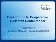CRC Models - FreshwaterLife