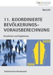 11. koordinierte Bevölkerungsvorausberechnung ... - frauennrw.de