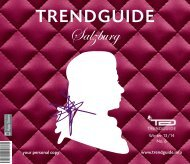 Trendguide Salzburg Nr 6