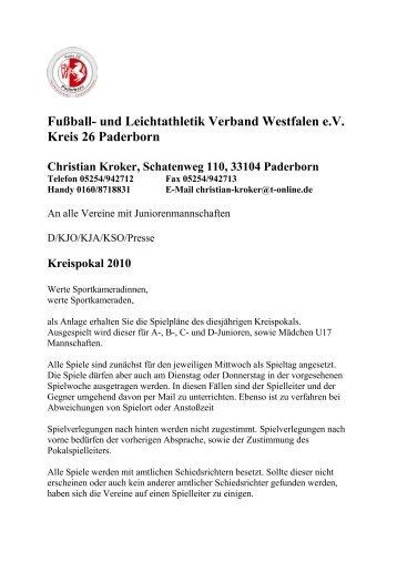 Fußball- und Leichtathletik Verband Westfalen e - FLVW Kreis ...