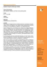 Programmablauf Berlin 2008 - Forum Unna