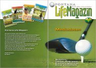 Mediadaten - Golfclub Fontana