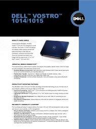 DELLTM VOSTROTM DELL VOSTRO 1014/1015 - Flora Limited