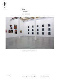 VIP GENULLT - Galerie b2