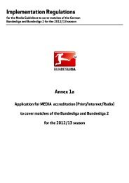Application for Media Accreditation - Mainz 05