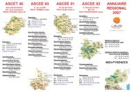 ascet 46 ascee 65 ascee 81 ascee 82 annuaire regional 2007