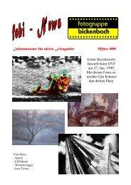 Informationen für aktive Fotografen März 1999 Erster Bezirkswett ...