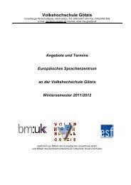 ANGEBOT-TERMINE Sprachenzentrum WS11.ALLE