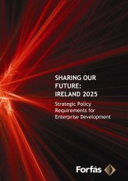 Sharing Our Future: Ireland 2025 - Forfás
