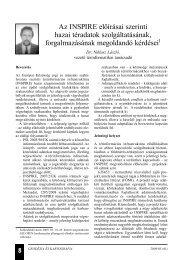 Dr. Niklasz László - Földmérési és Távérzékelési Intézet