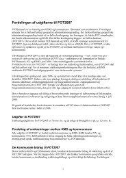 Økonomisk redegørelse for FOT2007 maskinen - FOTdanmark