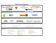 2012 Exhibitor, Attendees and Miscellaneous Information
