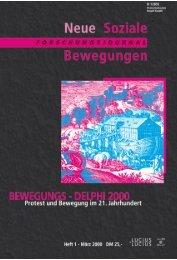 Vollversion (9.12 MB) - Forschungsjournal Soziale Bewegungen