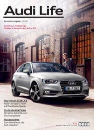 Der neue Audi A3 Außen kompakt, innen auf Oberklasse-Niveau ...