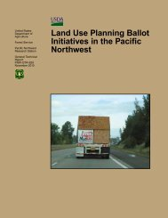 Land Use Planning Ballot Initiatives in the Pacific Northwest