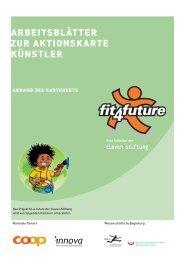 Arbeitsblätter zur AktionskArte künstler - Fit-4-Future
