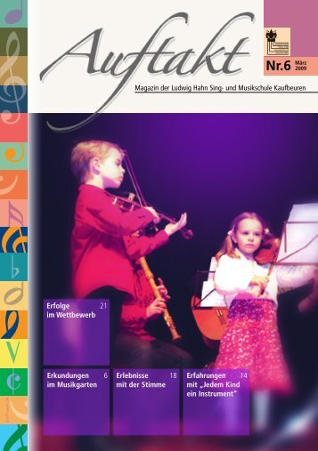 6. Ausgabe März 2009 [pdf] [2,97 MB - Ludwig Hahn Sing - Stadt ...
