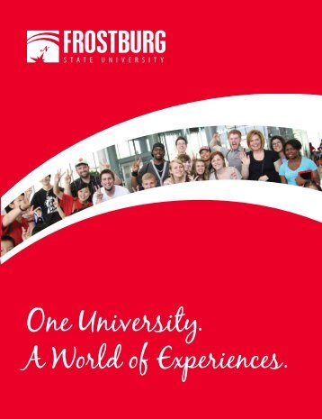 Your journey starts here. - Frostburg State University