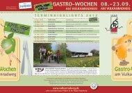 Apfelwochen-Flyer - Vulkanradweg im Vogelsberg
