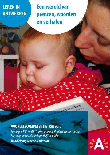leerlingen BSO en DBSO lezen voor aan de ... - Stad Antwerpen
