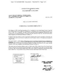 Conditional Transfer Order (CTO-1) (Doc. 2) - United States District ...