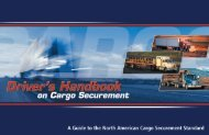 Cargo Securement - Federal Motor Carrier Safety Administration