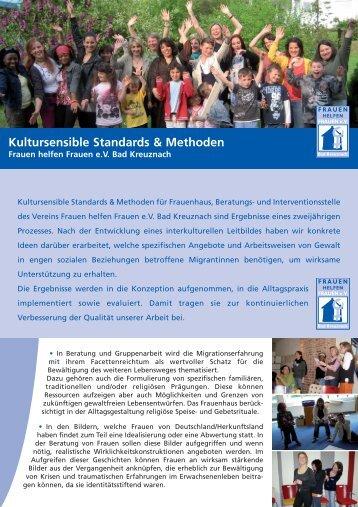 Entwicklung kultursensibler Standards & Methoden für Frauenhaus ...