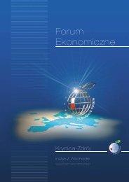 Podsumowanie Forum 2009 - Economic Forum