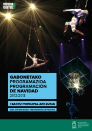 GABONETAKO PROGRAMAZIOA PROGRAMACIÓN DE NAVIDAD