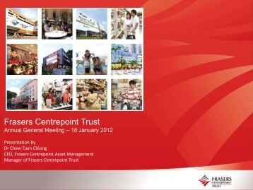 Annual General Meeting Slides - Frasers Centrepoint