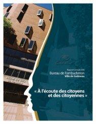 Rapport annuel 2010 - Ville de Gatineau