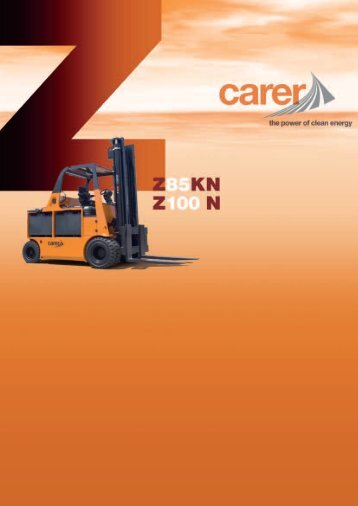 The Carer forklifts range is meant to be