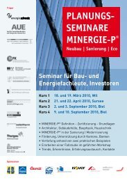 Seminar für Bau - Gasser Baumaterialien AG