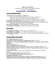 Download Curriculum Vitae - USC Gould School of Law - University ...