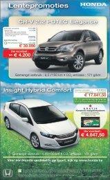 Lentepromoties - Honda