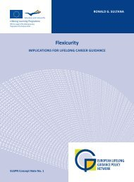 Flexicurity: Implications for Lifelong Career Guidance. ELGPN ...
