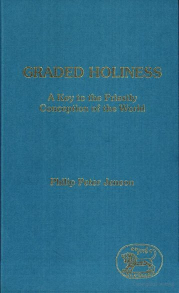 Graded Holiness.pdf - Friends of the Sabbath Australia
