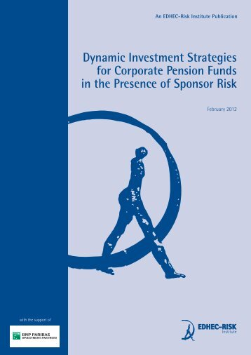 Dynamic Investment Strategies for Corporate Pension Funds in the ...