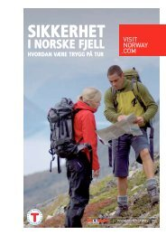 SIKKERHET - Fjord Norway